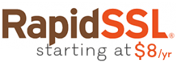 Low Cost RapidSSL SSL/TLS Certs